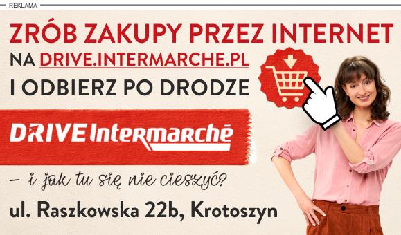 Drive Intermarché – szybkie i wygodne zakupy spożywcze przez Internet.