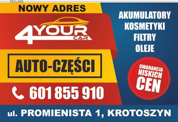4yourcar - Sklep Motoryzacyjny w Krotoszynie
