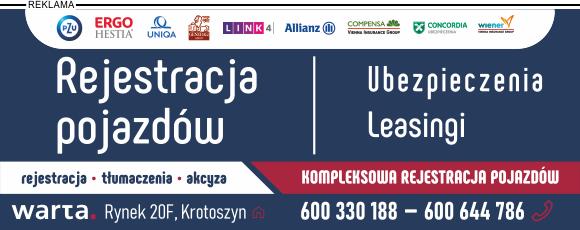 Rejestracja pojazdów Krotoszyn
